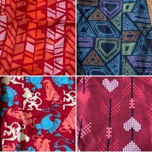 4 pairs of Lularoe leggings OS